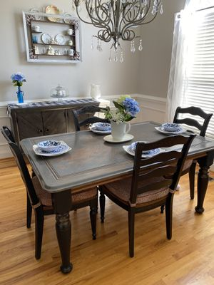 Table , chairs and Buffet for Sale in Garner, NC