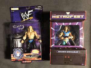 2 Shawn Michaels Action Figures for Sale in Chelmsford, MA