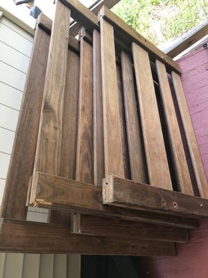 Real wood bunk beds needs little tlc 70 obo location by zoo for Sale in Cleveland, OH