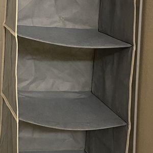 Hanging Closet Organizer 6 Shelves for Sale in Renton, WA