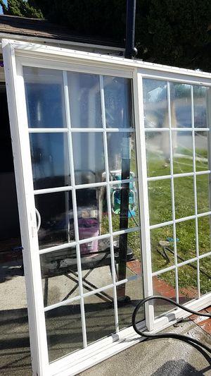 80x72 sliding glass patio door for Sale in Downey, CA