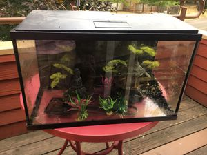 Top fin aquarium set up with extras for Sale in Beaverton, OR