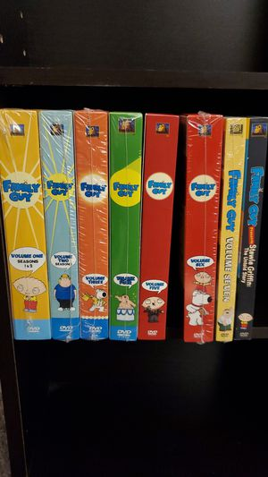 Family Guy Volumes 1-7 and Stewie Movie DVD's for Sale in Gilroy, CA