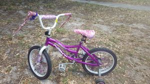 "NEXT 18"" Girls Misty Bike with training wheels for Sale in Winter Park, FL"