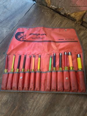 Snap on nut drivers for Sale in Angier, NC