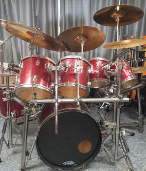 ludwig 80's drum kit for Sale in Breesport, NY