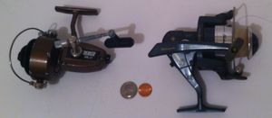 2 Good Used Fishing Reels, Excursion and Zebco for Sale in Lakeside, CA