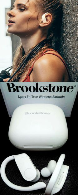 Brand New Brookstone Sports Fit Earbuds for Sale in Boca Raton,  FL