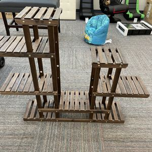 """38"""" Wood Plant Stand Flower Display Shelf Stand 6 Tier for 8 Potted Plants Indoors/Outdoors for Sale in Norfolk, VA"""