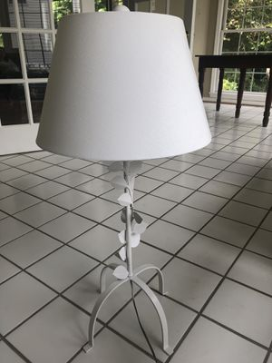 Vintage White Lamp x2 for Sale in Bowie, MD