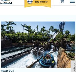 5 Sea World Or Acuatica Tickets for Sale in Orlando,  FL