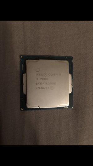 I7 7700k with B250f motherboard for Sale in Fontana, CA