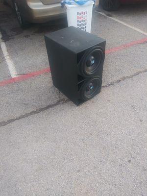 12' Némesis audio en pro box y amp planet audio y epicenter Némesis excelentes condiciones for Sale in Dallas, TX