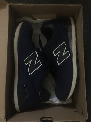 New balance 574 navy white black Jordan runner Nike adidas for Sale in Silver Spring, MD