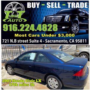 2003 Honda Civic LX for Sale in Sacremento, CA