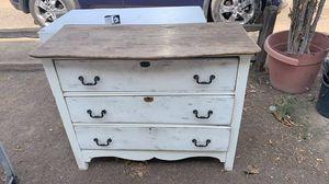 Wood antique dresser for Sale in Corona, CA