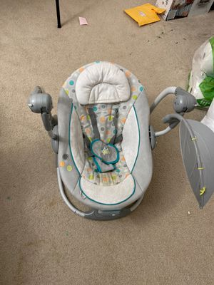 Ingenuity portable swing battery operated (currently on hold due to pandemic) for Sale in Falls Church, VA