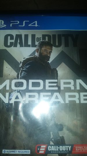 Call of duty modern warfare ps4 for Sale in Amarillo, TX