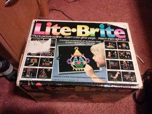 VINTAGE COLLECTABLE 1980'S TOY - LITE•BRITE for Sale in Walton Hills, OH