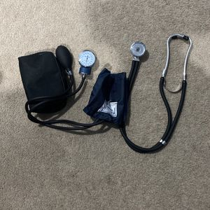Stethoscope + Blood Pressure Cuff Shygnomanometer for Sale in Rancho Cucamonga, CA