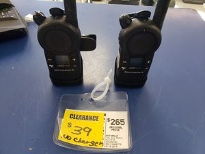 Motorola CLS1410 Two Way Radios for Sale in Englewood, CO