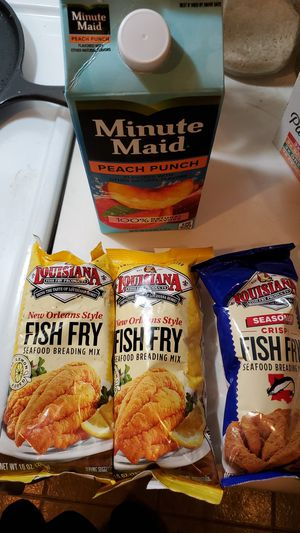 Free Fish Fry and Minute Maid Juice for Sale in Compton, CA