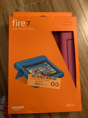 Amazon Fire 7 Pink Case for Sale in Lithonia, GA