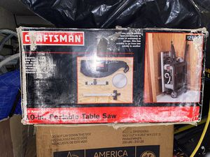Craftsman table saw in a box for Sale in Orlando, FL