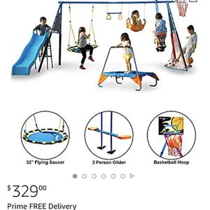 Fitness Reality ULTIMATE Metal Swing Set (8 Station) for Sale in West Hollywood, CA