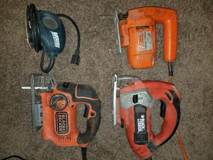 Tool Belt, Black and Decker and Dewalt Power Tools for Sale in Columbus, OH