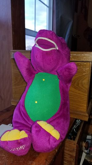 2 piece lot of barney stuff toys for Sale in Kutztown, PA