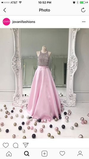 Prom Dress Jovani Blush Gown Size 2 for Sale in Houston, TX