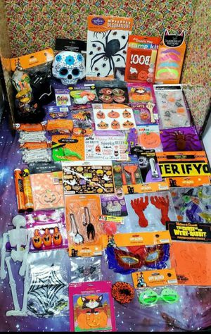 Halloween Decorations and Toys, Stickers,Bags,Activities.. for Sale in Santa Ana, CA