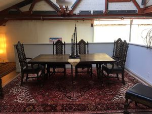 Large Antique Dinner Table for Sale in Oakland, CA