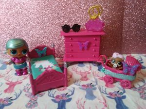 Lol surprise dollhouse furniture set for Sale in Norwich, CT