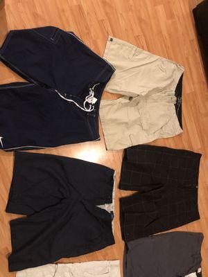 Shorts(quicksilver ,rusty,rip curl,da kine, nike) 32-34 waist for Sale, used for sale  Cerritos, CA