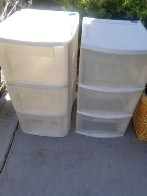 3 drawer plastic storage for Sale in Litchfield Park, AZ
