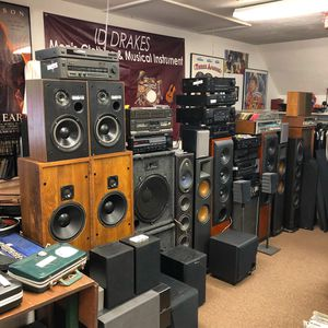 Stereo Equipment. Receivers, Cassette Players, CD Players, Record Players, Speakers for Sale in Pembroke, MA
