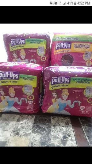 Huggies Disney Princess Pull Ups Sz 3t4t for Sale in Fayetteville, NC