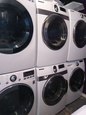 🌼Samsung large capacity steam washer and steam dryer electric for Sale in Houston, TX