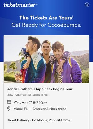 Jonas Brothers Tickets!!! for Sale in Lehigh Acres, FL