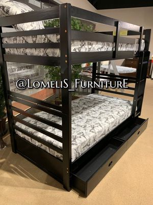 TWIN/TWIN BUNK BEDS W MATTRESSES INCLUDE D for Sale in Bellflower, CA