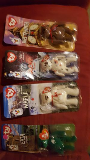 Extremely rare,ty beanie babies set of 4,unopened very good condition for Sale in Columbus, OH