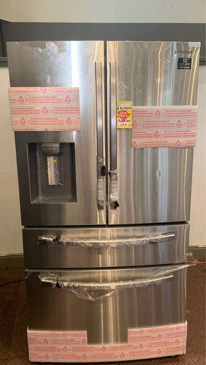 Samsung French door stainless steel Refrigerator RF28R7201SR 💰☄️🔥💥⚡️ appliance liquidation⚡️⚡️⚡️⚡️ for Sale in Austin, TX