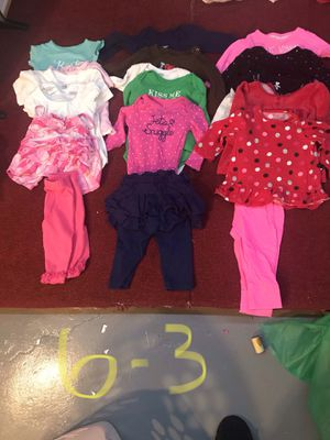6 month baby girl clothes for Sale in Tonawanda, NY