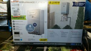 Rheem Performance Platinum 9.5 GPM Natural Gas High Efficiency Outdoor Tankless Water Heater for Sale in Phoenix, AZ