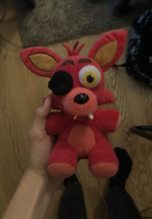 Five nights at Freddy's plushy foxy for Sale in Henderson, NV