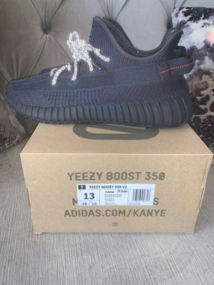 "Adidas Yeezy boost 350 v2 black ""non reflective"" size 13 for Sale in El Cajon, CA"