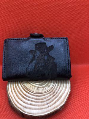 Desperado black leather wallet for Sale in Beverly Hills, CA