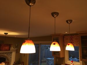 3 kitchen island lights for Sale in Palatine, IL